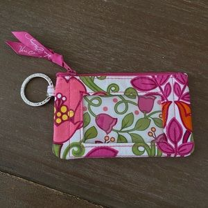 Vera Bradley Card Holder - Key Chain